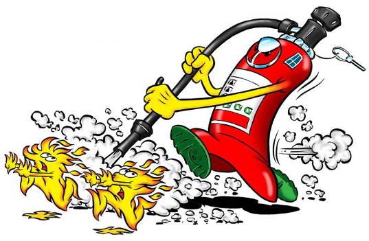Εικόνα πυροσβεστήρα cartoon