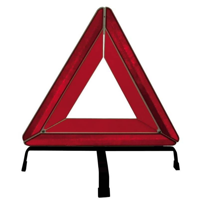 Tractor Reflective Triangles : First aid equipment reflective triangle with metallic base